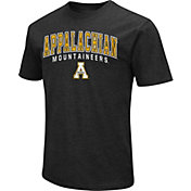Colosseum Men's Appalachian State Mountaineers Grey Dual Blend T-Shirt