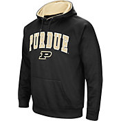 Colosseum Men's Purdue Boilermakers Black Fleece Hoodie