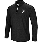 Colosseum Athletics Men's Providence Friars Action Pass Quarter-Zip Black Shirt