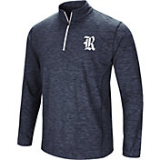 Colosseum Athletics Men's Rice Owls Navy Action Pass Quarter-Zip Shirt