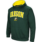 Colosseum Men's Oregon Ducks Green Fleece Hoodie