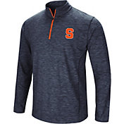 Colosseum Men's Syracuse Orange Blue Action Pass Quarter-Zip Shirt