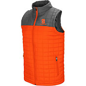Colosseum Men's Syracuse Orange Orange/Grey Amplitude Puff Vest