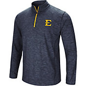 Colosseum Athletics Men's East Tennessee State Buccaneers Navy Action Pass Quarter-Zip Shirt