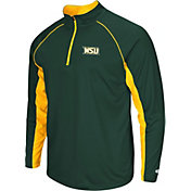 Colosseum Men's Wright State Raiders Green Airstream Quarter-Zip