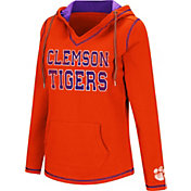 Colosseum Women's Clemson Tigers Orange Spike Fleece Hoodie