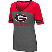 Colosseum Athletics Women's Georgia Bulldogs McTwist Jersey T-Shirt