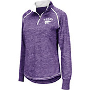 Colosseum Women's Kansas State Wildcats Purple Bikram Quarter-Zip Top
