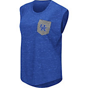Colosseum Athletics Women's Kentucky Wildcats Blue Pocket Tank Top