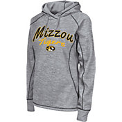 Colosseum Women's Missouri Tigers Grey Crossneck Pullover Hoodie