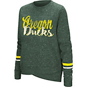 Colosseum Women's Oregon Ducks Green Birdie Fleece Pullover