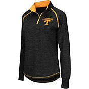 Colosseum Women's Tennessee Volunteers Black Bikram Quarter-Zip Top