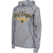 Colosseum Women's West Virginia Mountaineers Grey Crossneck Pullover Hoodie