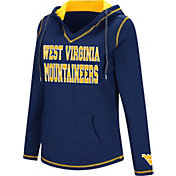 Colosseum Women's West Virginia Mountaineers Blue Spike Fleece Hoodie