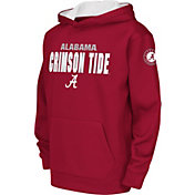 Colosseum Youth Alabama Crimson Tide Crimson Fleece Hoodie