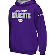 Colosseum Boys' Kansas State Wildcats Purple Pullover Hoodie