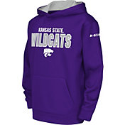 Colosseum Youth Kansas State Wildcats Purple Fleece Hoodie