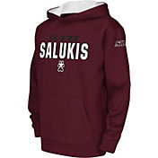 Colosseum Youth Southern Illinois  Salukis Maroon Fleece Hoodie