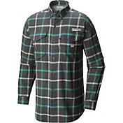 Columbia Men's PFG Bonehead Flannel Long Sleeve Shirt