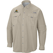 Columbia Men's Wright State Raiders Fossil PFG Bahama Long Sleeve Shirt