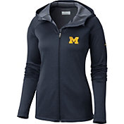 Columbia Women's Michigan Wolverines Blue Saturday Trail Hooded Jacket