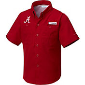Columbia Youth Alabama Crimson Tide Crimson Tamiami Shirt
