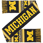 Forever Collectibles Michigan Wolverines Ugly Scarf