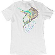 Guy Harvey Women's Sailfish Mandala T-Shirt