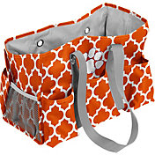Clemson Tigers Quatrefoil Junior Caddy