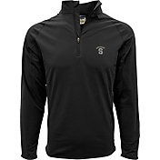 Levelwear Men's Syracuse Orange Black Metro Quarter-Zip Pullover