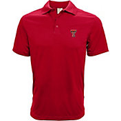 Levelwear Men's Texas Tech Red Raiders Red Helium Polo