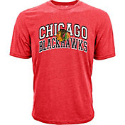 Levelwear Youth Chicago Blackhawks Performance Arch Red T-Shirt