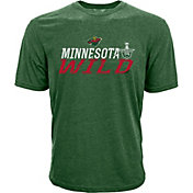 Levelwear Youth 2017 NHL Stanley Cup Playoffs Minnesota Wild Green T-Shirt