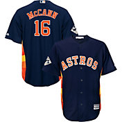 Majestic Men's 2017 World Series Replica Houston Astros Brian McCann Cool Base Alternate Navy Jersey