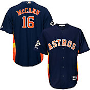 Majestic Men's 2017 World Series Champions Replica Houston Astros Brian McCann Cool Base Alternate Navy Jersey