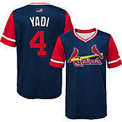 Majestic Youth St. Louis Cardinals Yadier Molina 'Yadi' MLB Players Weekend Jersey Top