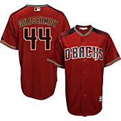 Majestic Youth Replica Arizona Diamondbacks Paul Goldschmidt #44 Cool Base Alternate Red Jersey