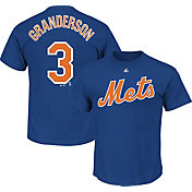 Majestic Youth New York Mets Curtis Granderson #3 Royal T-Shirt