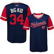 Majestic Youth Washington Nationals Bryce Harper 'Big Kid' MLB Players Weekend Jersey Top