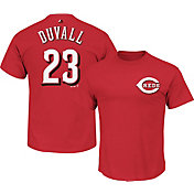 Majestic Youth Cincinnati Reds Adam Duvall #23 Red T-Shirt