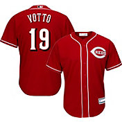 Youth Replica Cincinnati Reds Joey Votto #19 Alternate Red Jersey