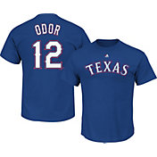 Majestic Youth Texas Rangers Rougned Odor #12 Royal T-Shirt