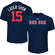 Majestic Youth Boston Red Sox Dustin Pedroia 'Laser Show' MLB Players Weekend T-Shirt