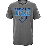 Majestic Youth Kansas City Royals Heirloom Grey T-Shirt
