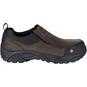 Merrell Men's Moab Rover Moc Waterproof Composite Toe Work Shoes