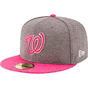 New Era Men's Washington Nationals 59Fifty 2017 Mother's Day Authentic Hat