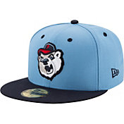 New Era Men's Pawtucket Red Sox 59Fifty Light Blue/Navy Authentic Hat