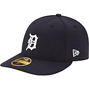 New Era Men's Detroit Tigers 59Fifty Home Navy Low Crown Authentic Hat