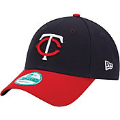 New Era Men's Minnesota Twins 9Forty Navy Adjustable Hat