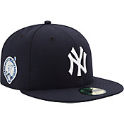 New Era Men's New York Yankees 59Fifty Game Navy Authentic Hat w/ Derek Jeter Jersey Retirement Patch